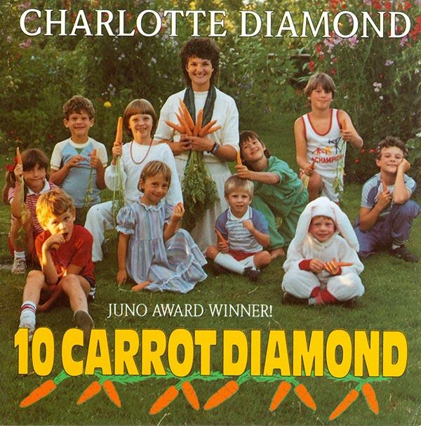 CHARLOTTE DIAMOND - THE GARDEN SONG LYRICS