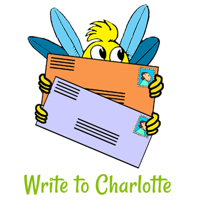 Hug Bug Club - Write to Charlotte