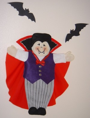 Dracula Puppet