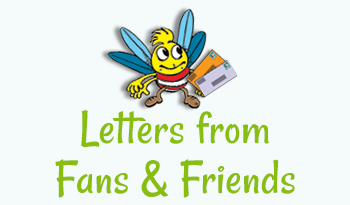 Hug Bug Club - Letters from Fans & Friends