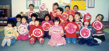 Romper's Preschool Pizzas, 4 year old morning class, Richmond, BC