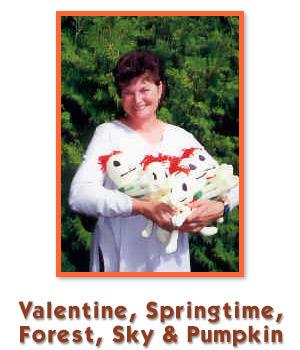 Valentine, Springtime, Forest, Sky & Pumpkin