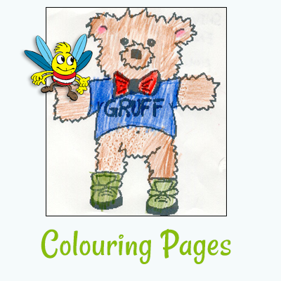 Hug Bug Club Colouring Pages