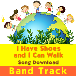 I Have Shoes and I Can Walk (INSTRUMENTAL / Band Track) Song Download [Image © GraphicsRF - Fotolia.com]
