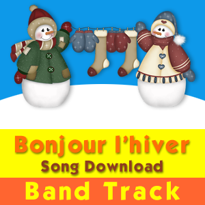 Bonjour l'hiver (Band Track) Song Download - Charlotte Diamond