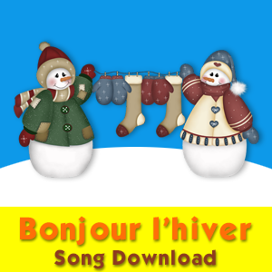 Bonjour l'hiver Vocal Song Download