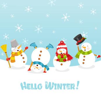 Hello Winter! [Image © pinipin - Fotolia.com]