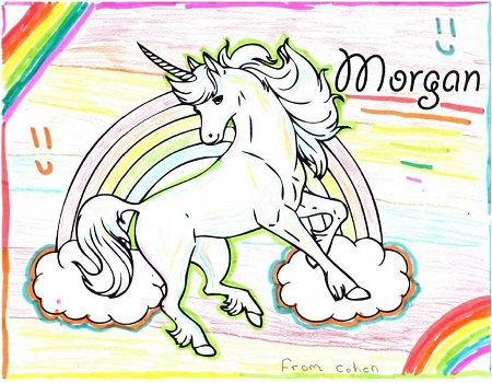 Unicorn for Morgan by Cohen
