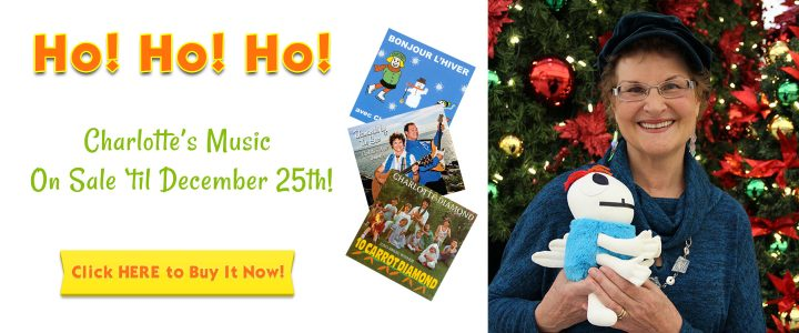 Ho! Ho! Ho! Charlotte's Music On Sale 'Til December 25th!