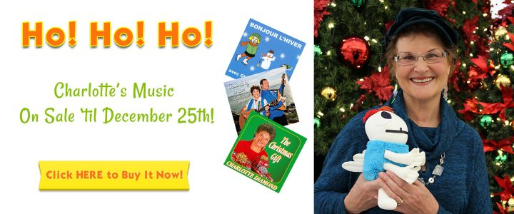 Ho! Ho! Ho! Charlotte's Music on Sale 'Til December 25th! Click Here!