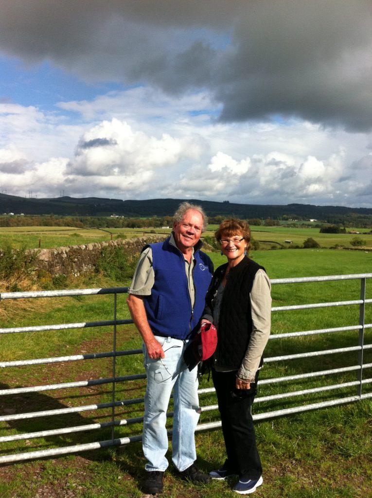 Charlotte & Harry Diamond, near Dumfries, Scotland