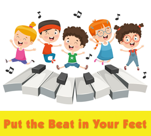 Put the Beat in Your Feet [Image © Yusuf Demirci - 123rf.com]