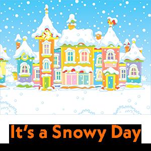 It's a Snowy Day [Image © Alexey Bannykh - 123RF.com]