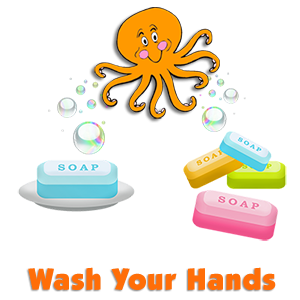 "Wash Your Hands (to the tune of ""Octopus (Slippery Fish)"")"